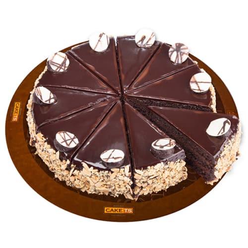 کیک دبل چاکلت