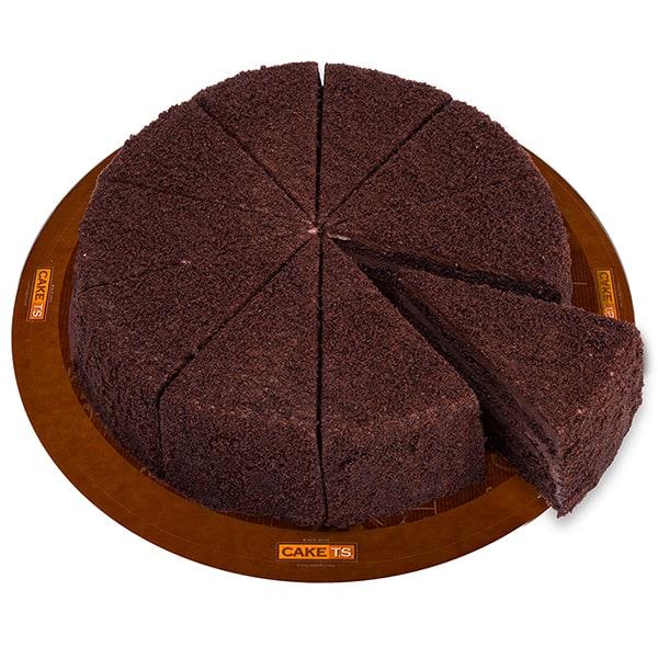 کیک پودری شکلاتی