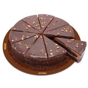 کیک کرم فندق